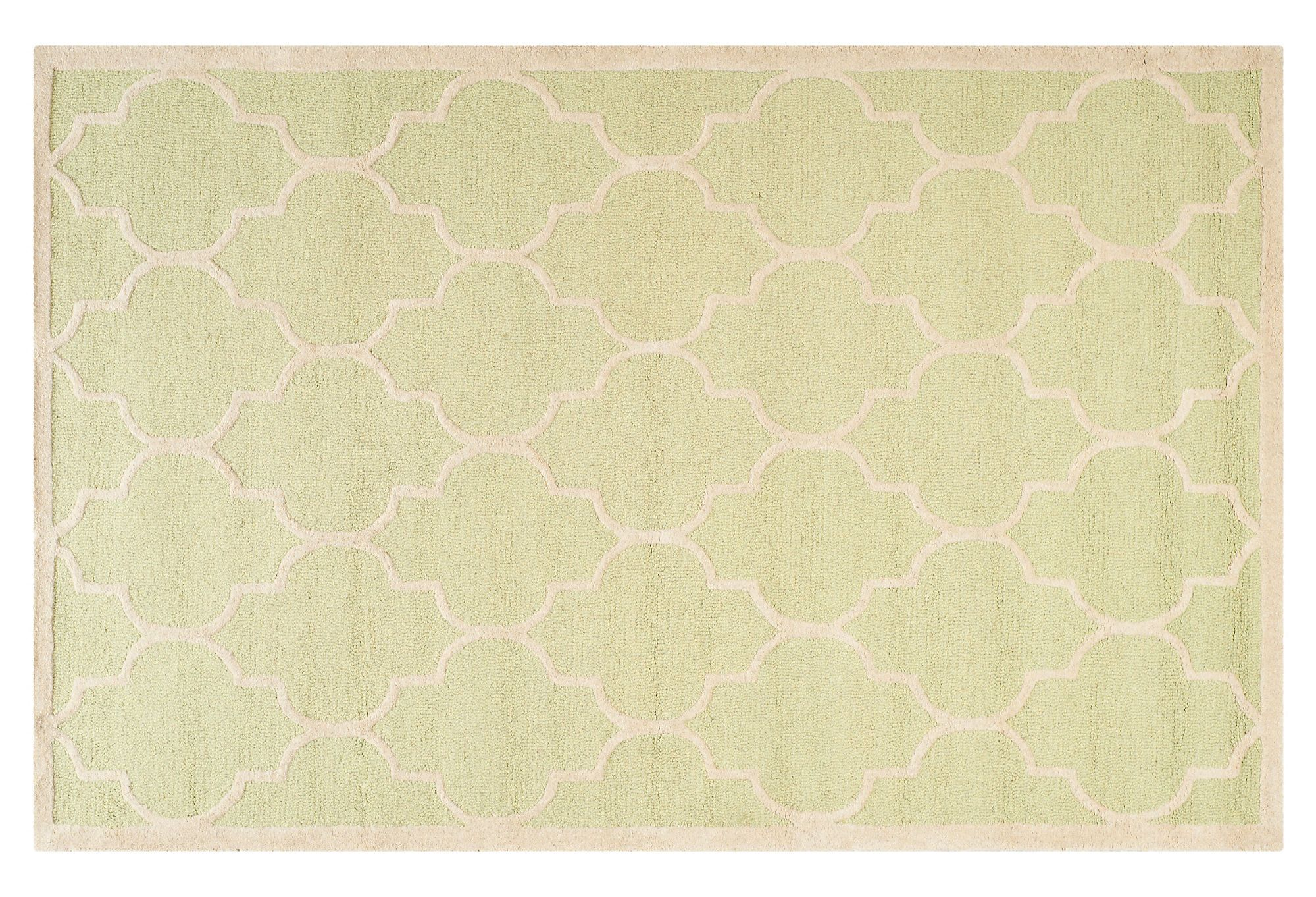 Beach-House Style - Sawyer Rug, Light Green/Ivory...ummmmm, it's even named after us.  I think we need it at the beach!