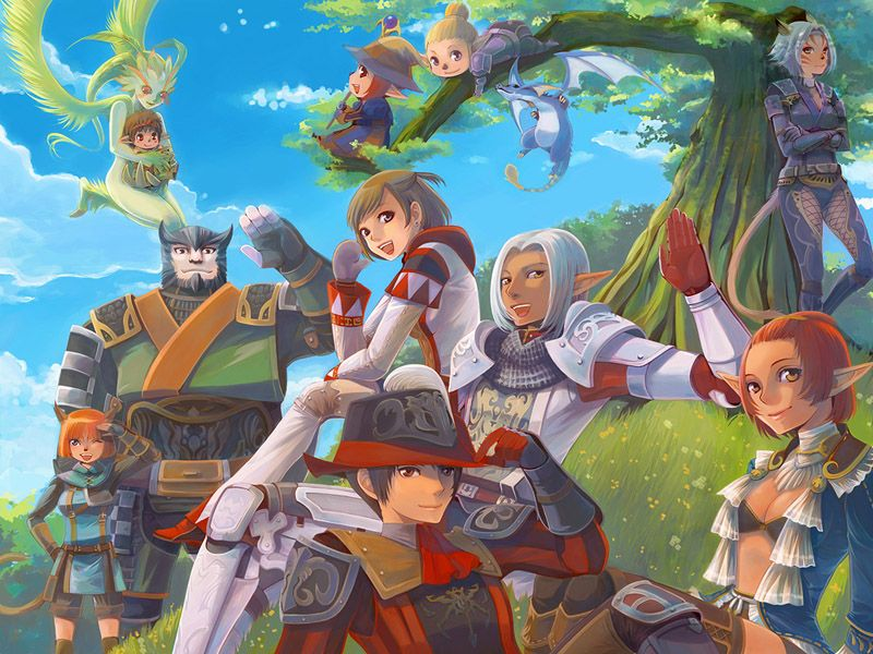 Let S Adventure Final Fantasy Xi Fan Art Final Fantasy Xi