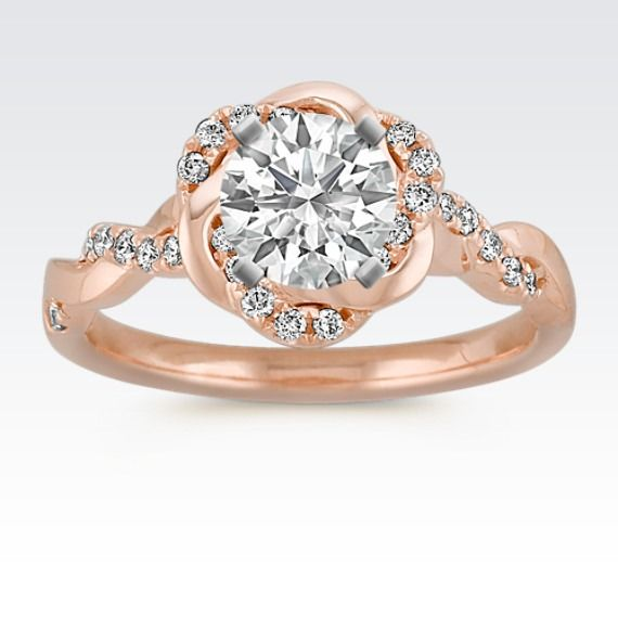 Head over heels for this rose gold infinity ring Rings