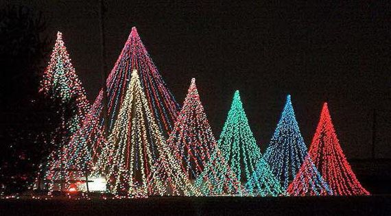 how to make the ultimate christmas light feature the mega tree - How To Make A Christmas Light Show