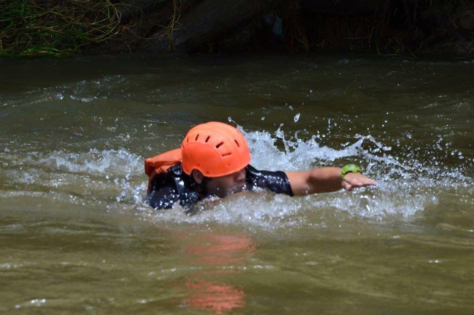 Vamos a nadar al Río Del Valle de Orosí