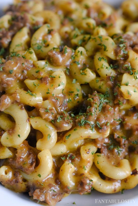 Cheeseburger Macaroni #instantpotrecipes