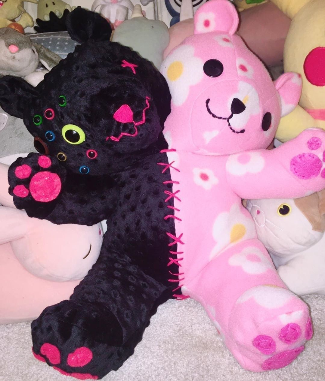 Cute Pink Goth Aesthetic