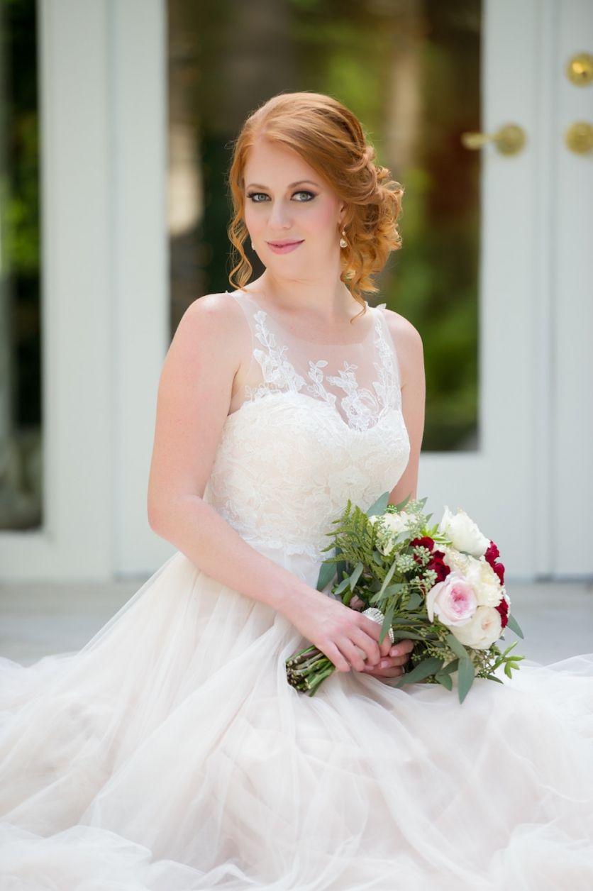 Natural Outdoor Rose Green And Gold Intimate Backyard Tampa Wedding Boho Wedding Inspo Wedding Dresses Blush Wedding Dress [ 1256 x 836 Pixel ]