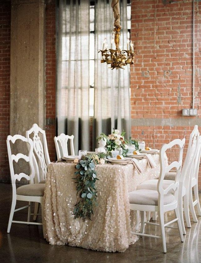 Best 25+ Sequin Tablecloth Ideas On Pinterest | Sequin Clothing, Gold Glitter  Tablecloth And Blush Gold Weddings