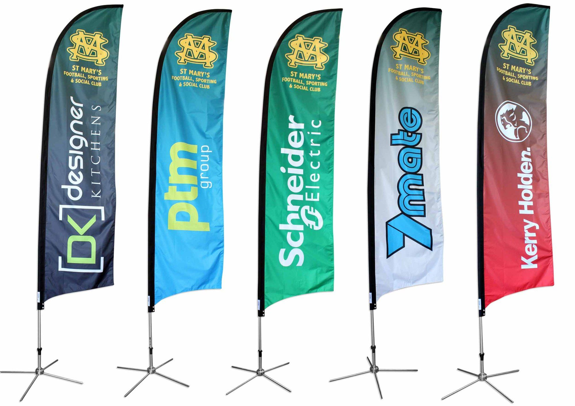 Feather Flag Banners Set Only 97 Flags Feather Flags Custom Feather Flags Custom Banners