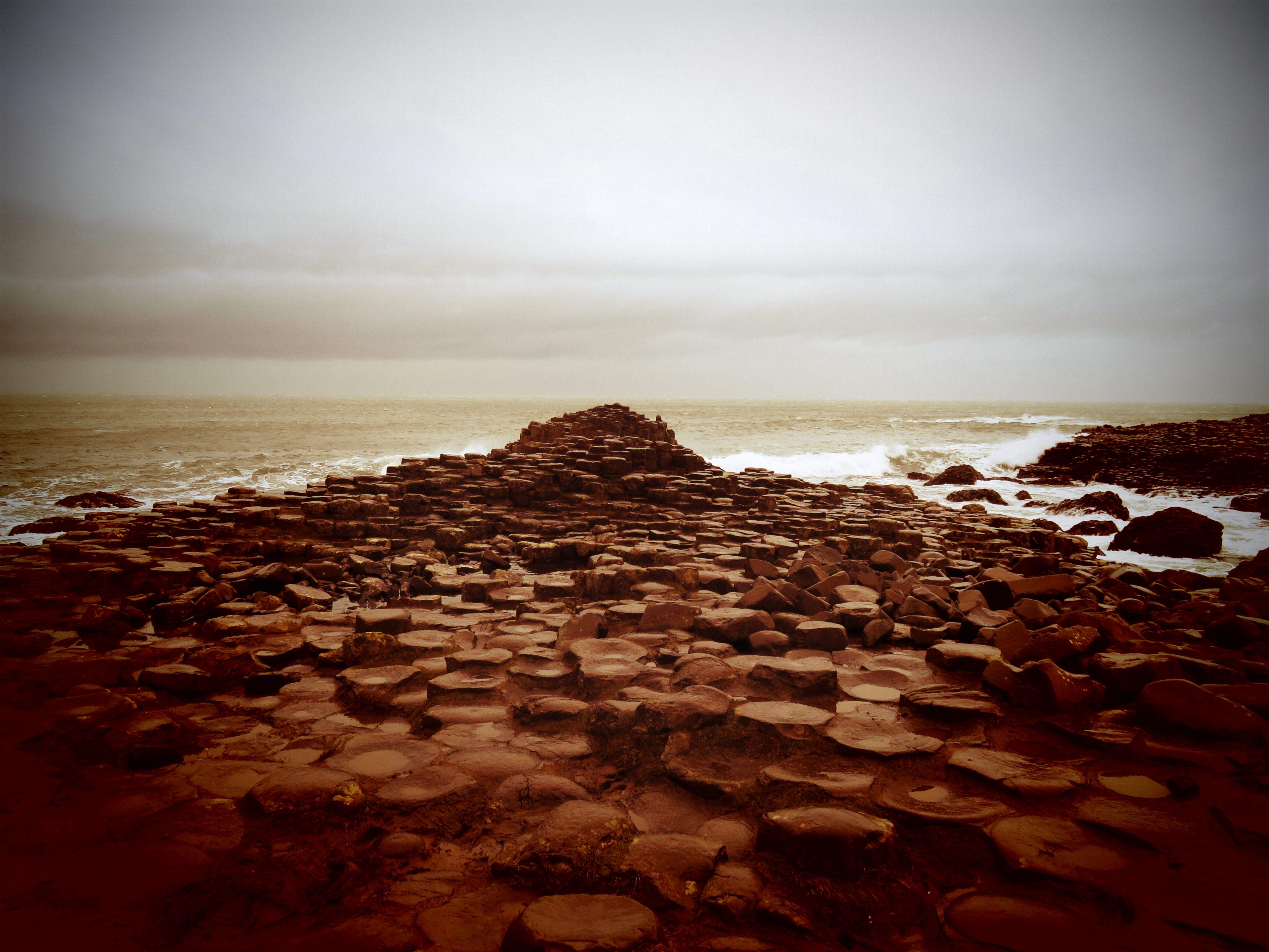 Giant's causeway, Irlanda del Norte. Una maravilla con unos paisajes de sueño.
