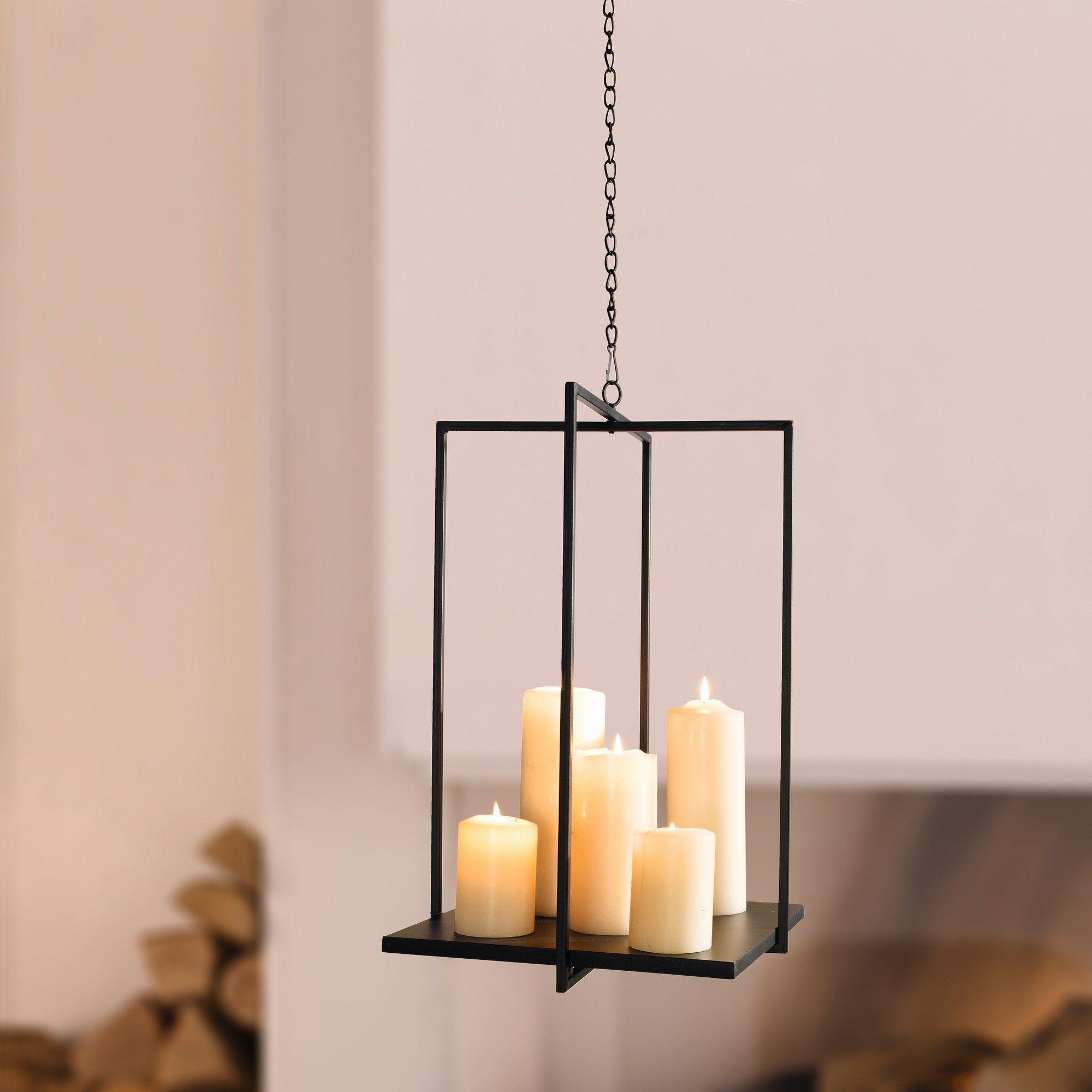 Metall h nger deko tablett kerzenlicht llampen for Metall deko shop