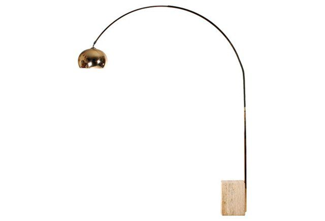 Italian Brass Arco Lamp Arco Lamps Lamp Interior Lighting