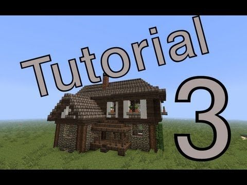 Minecraft Tutorial Mittelalter Haus Deutsch YouTube - Minecraft mittelalter haus bauen german