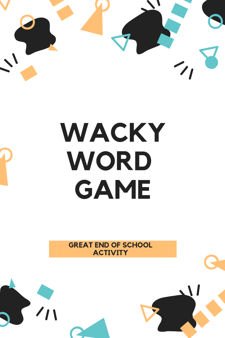 Photo of Wacky Word Game