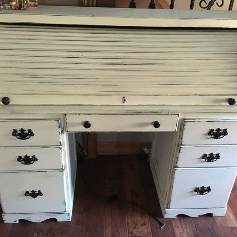 For Sale By Fran Homemade Furniture Furniture Roll Top Desk