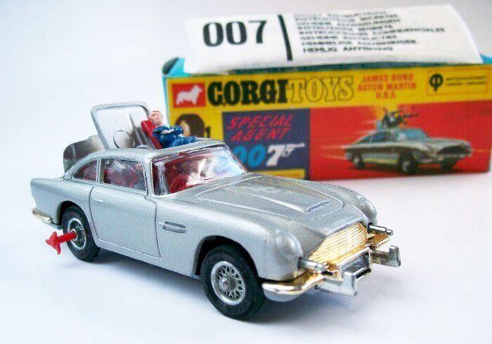 Corgi James Bond Aston Martin Db5 C270 Jouets Vintage Petites Voitures Jouet