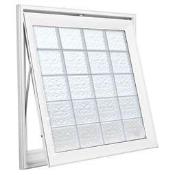design series awning windows - 6-inch x 6-inch x 1 1/2