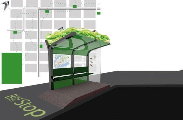 9 Interesting And Environmentally Friendly Bus Stop Concepts