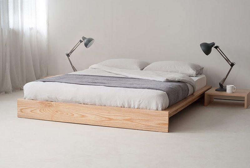 Bett ohne Kopfteil So wird das Schlafzimmer größer in