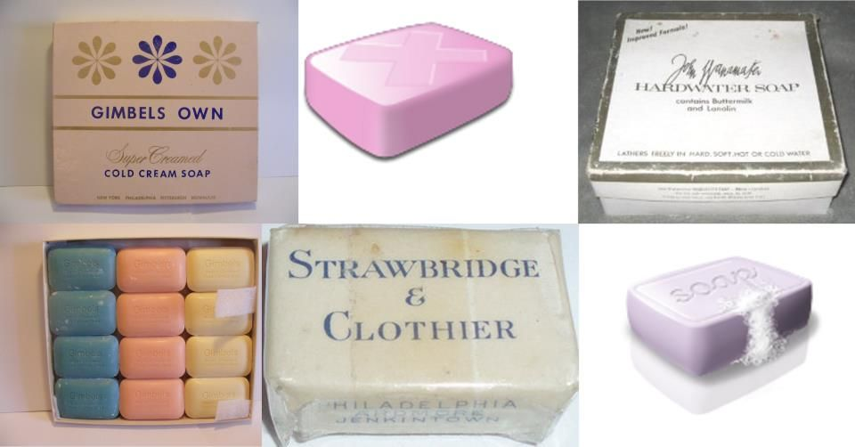 Bath soaps from Strawbridge & Clothier (defunct Philadelphia-based ...