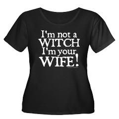 Witch Wife Princess Bride Women's Plus Size Scoop> Witch Wife Princess Bride> Princess Bride T-Shirts from Gold Label