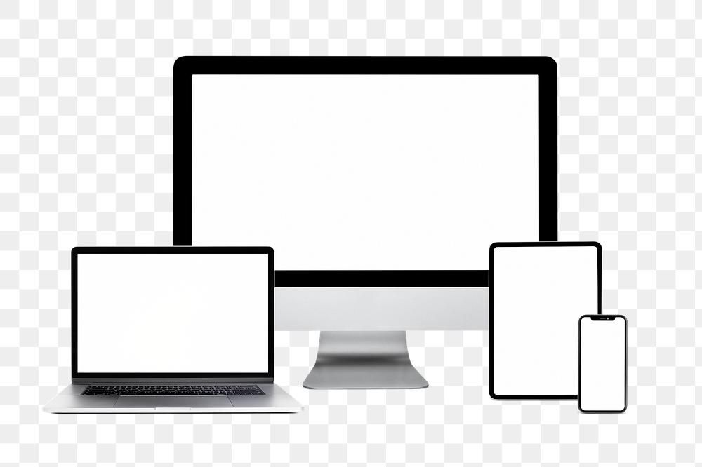 Multi Devices Mockup Blank Screen Png Technology And Electronics Premium Image By Rawpixel Com Petch Mockup Png Holography
