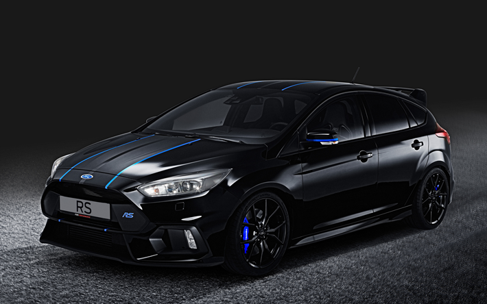 Download Wallpapers Ford Focus Rs 4k 2018 Cars Performance Parts