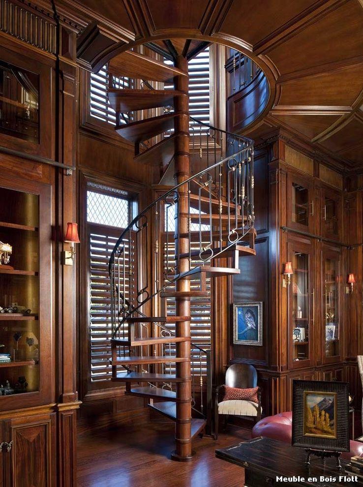 Meuble En Bois Flott With Classique Escalier Of Chris Pardo Design. Image  By Dallas Design Group, Interiors.
