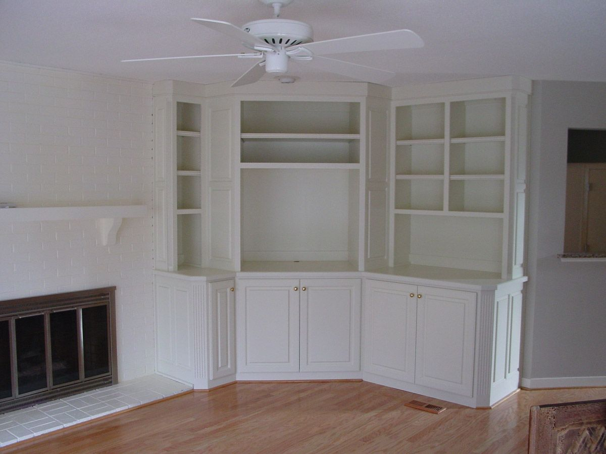custom a bookcase tv center - Google Search