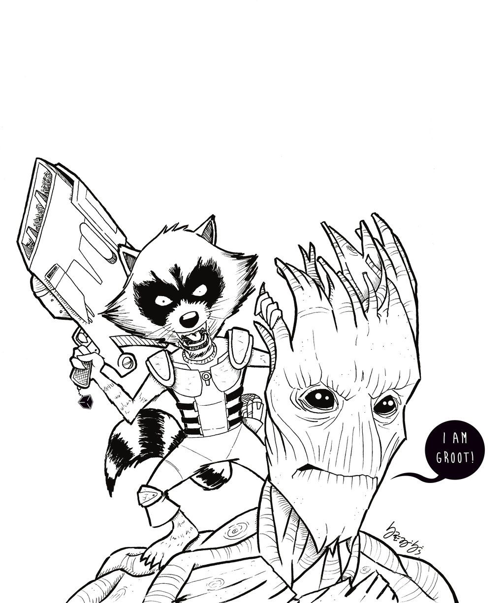 Guardians Of Galaxy by on