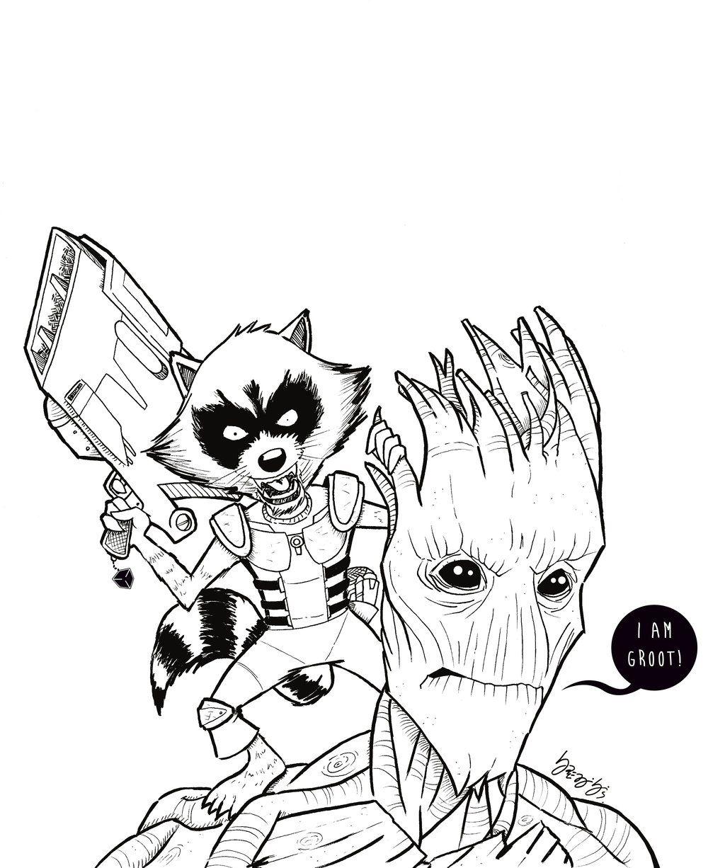 Guardians Of Galaxy by BRENIBISdeviantartcom on DeviantArt