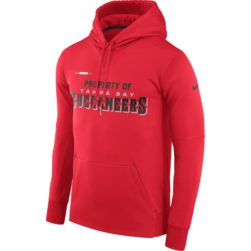 624c7561 Tampa Bay Buccaneers Nike Sideline Property Of Performance Pullover ...