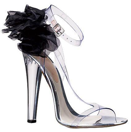Alexander McQueen's seethrough sandals