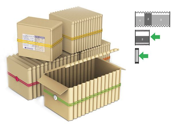 Accordion Eco Packaging | Box design and Packaging design