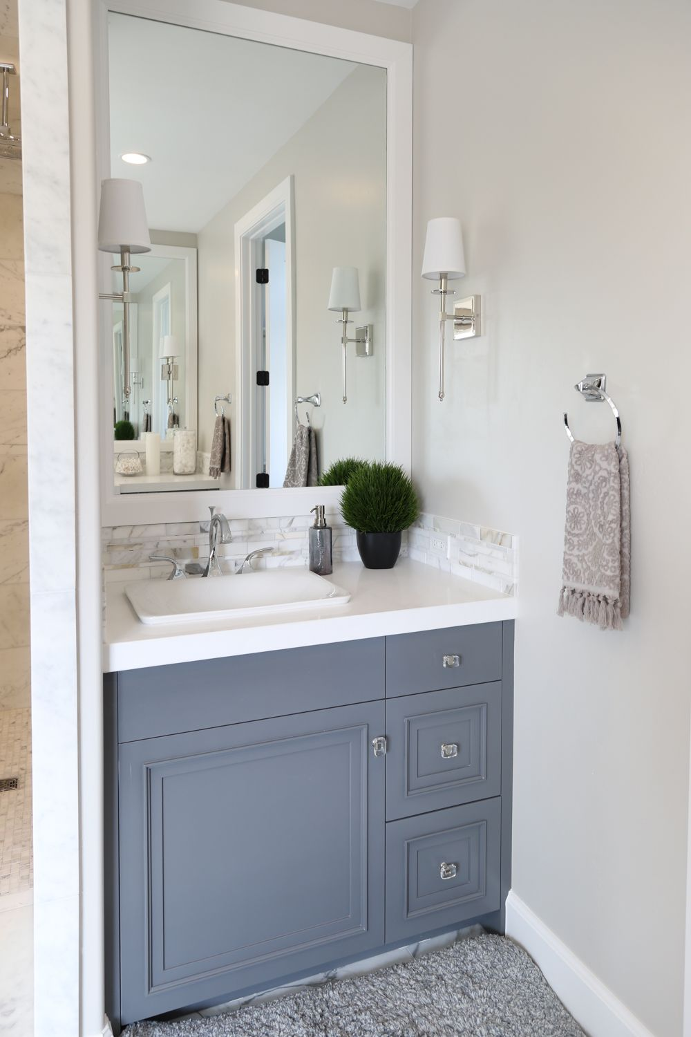 Modern French Country Home Tour Bathroom Wall Colors French Country Bathroom Simple Bathroom
