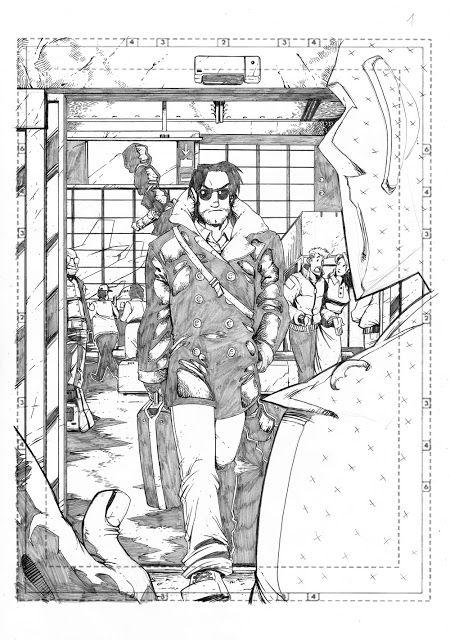 Marco Maccagni's Artworks: Archon #3 pg01