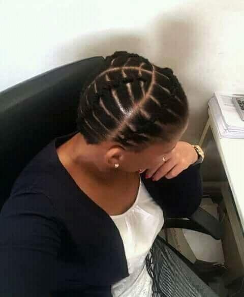 Simple Nice Look Natural Afro Hairstyles Natural Hair Styles Easy Tribal Hair