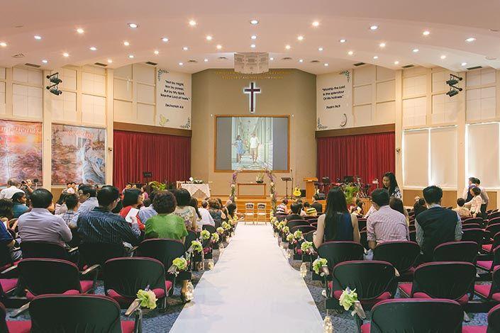 Wedding Day Photography At Calvary Baptist Church Liang Song Hui Min Awesome Memories