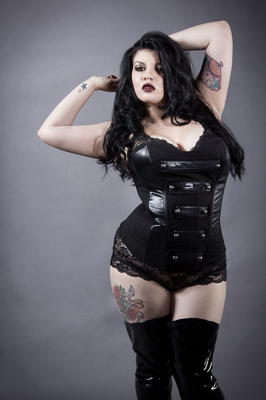 cute bbw girls Actual goth