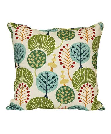 Look At This Zulilyfind Peach Tree Island Throw Pillow