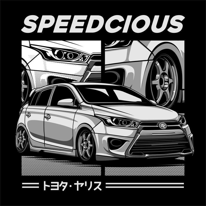Toyota Yaris By Speedcious Mobil Konsep Mobil Mobil Balap
