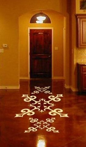 Spanishu0027 Floor Decal NZ$200 Floor Decals Pinterest Spanisch   Badezimmer  Spanisch
