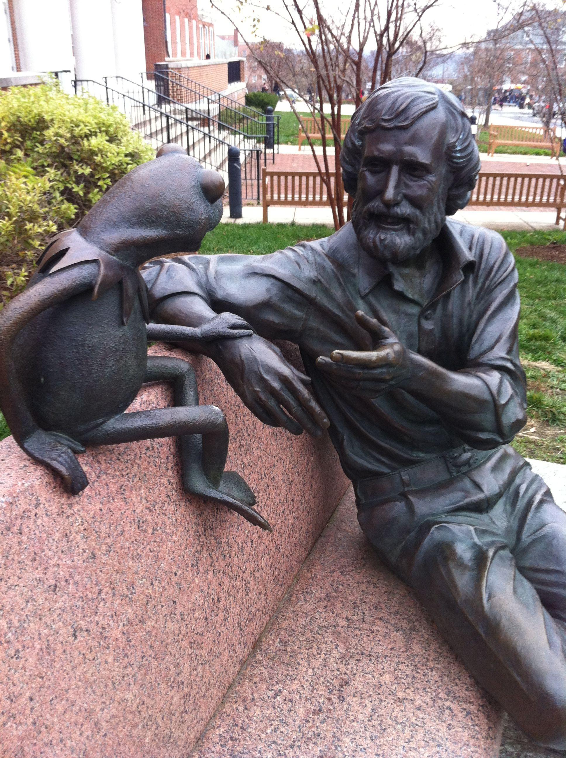 Jim Henson Statue | Cemetery Sculpture and Art | Jim henson
