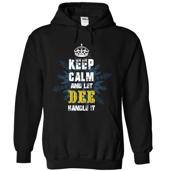08032103 Keep Calm and Let DEE Handle It - #gift for girlfriend #money gift. OBTAIN LOWEST PRICE => https://www.sunfrog.com/Names/08032103-Keep-Calm-and-Let-DEE-Handle-It-9173-Black-31707537-Hoodie.html?68278