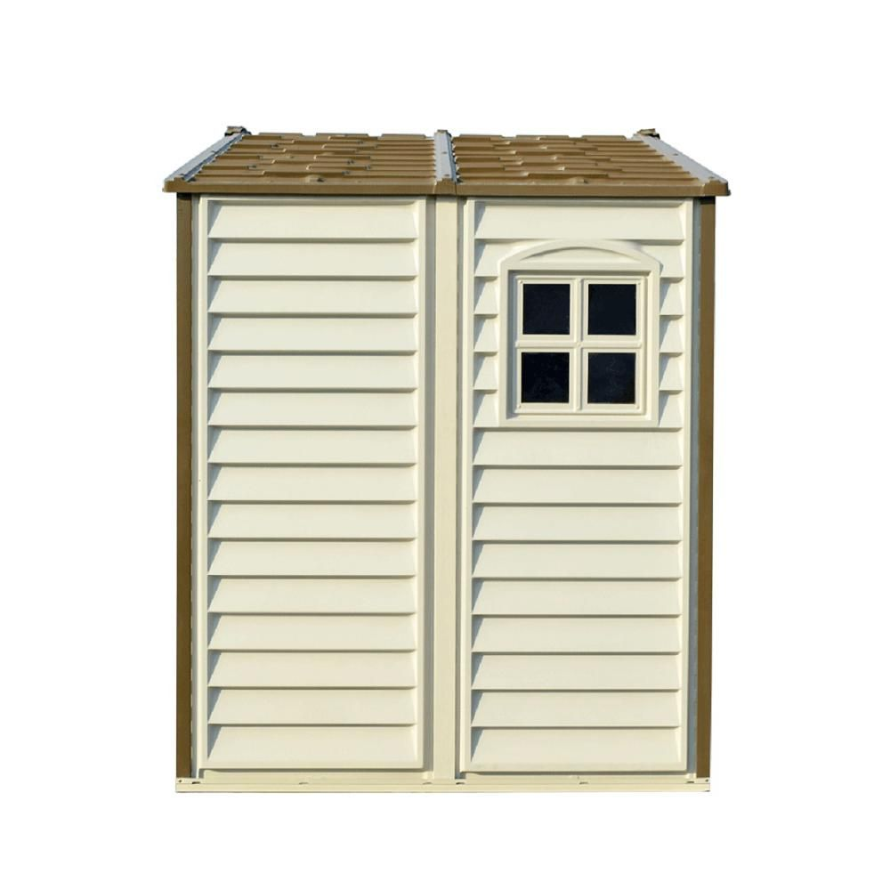Duramax Building Products Store All 8 Ft X 6 Ft Vinyl Storage Shed 30115 The Home Depot In 2020 Vinyl Storage Sheds Vinyl Storage Shed