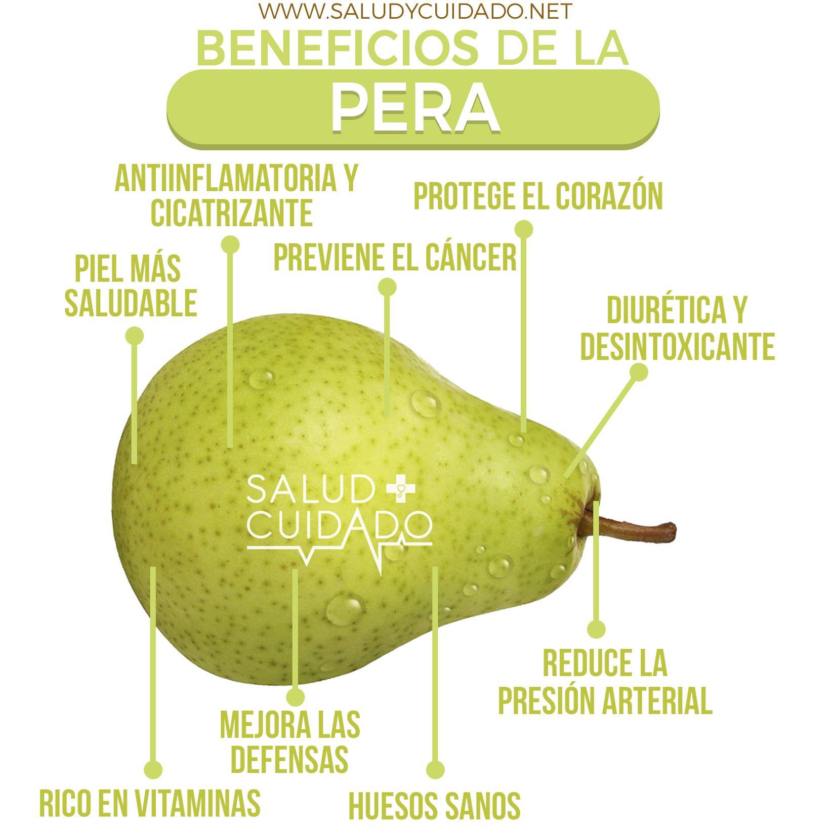 Pera Una Fruta Deliciosa Y Nutritiva Conócela Los Beneficios De La Pera Y Sus Propiedades Hacen Muy Atr Banana Benefits Health And Nutrition Apple Benefits