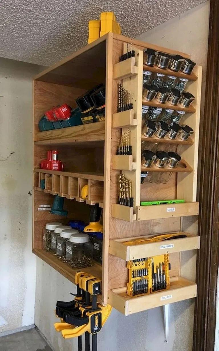 Top 50 Best Garage Workshop Ideas 28 Irma Garage Garageideas Garagedesign Diy Garage Storage Garage Storage Bins Garage Workshop Organization