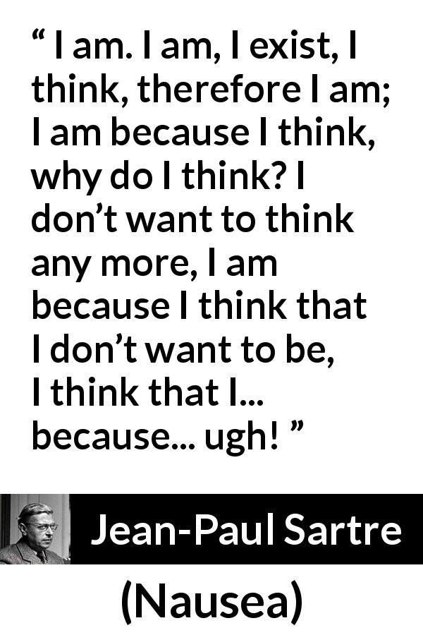 Jean-Paul Sartre Quotes