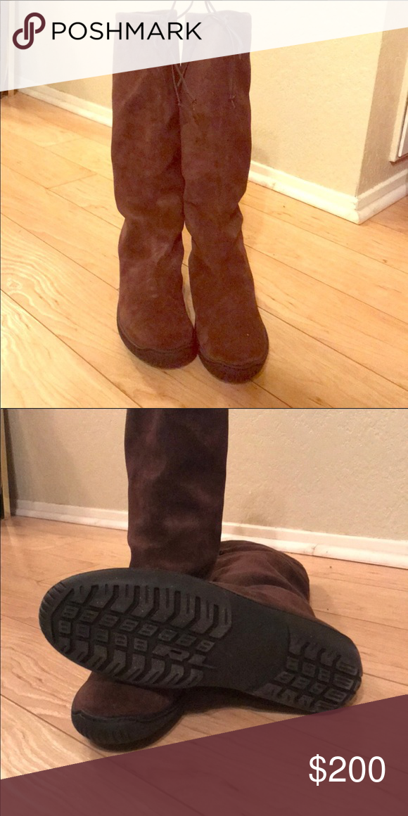 Ralph Lauren collection boots .9.5.. EUC. Ret 950
