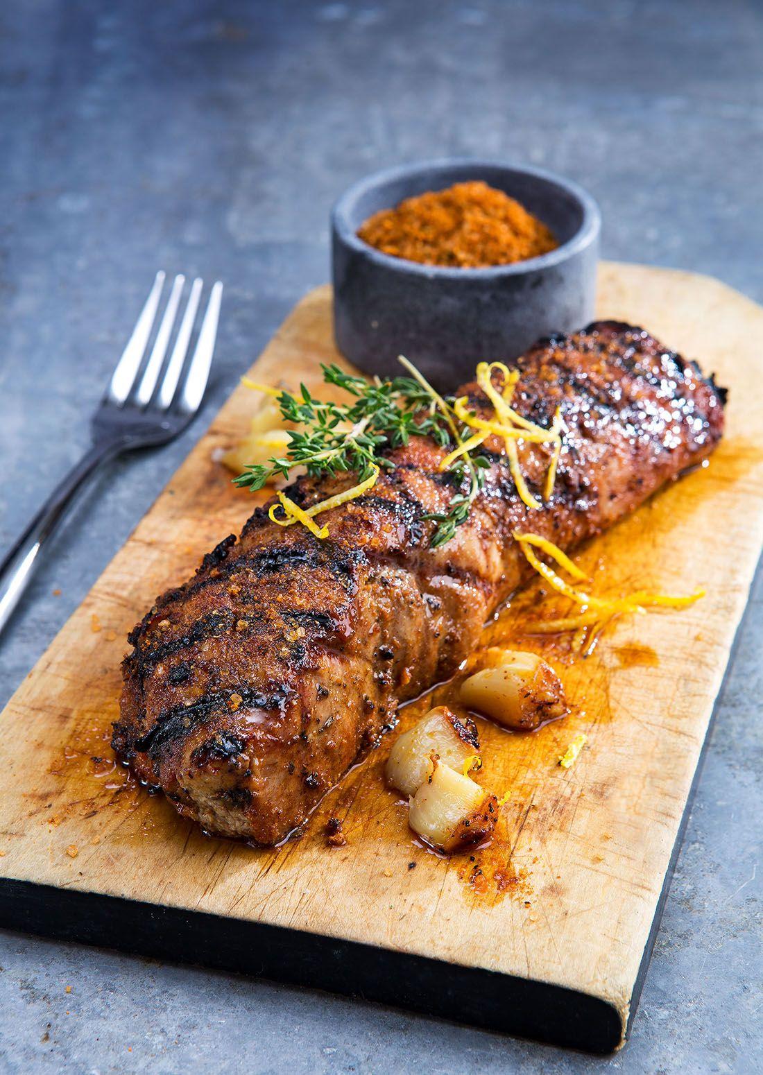 Crooked pig grilled pork tenderloin grilled pork