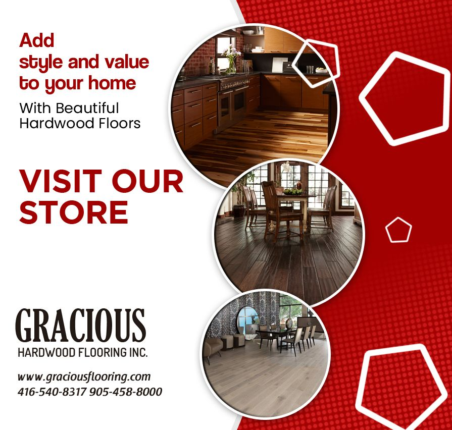 Add Style And Value To Your Home With Beautiful Hardwood Floors In Brampton Visit Our Store Gracious Hardwood Floori Flooring Store Hardwood Flooring