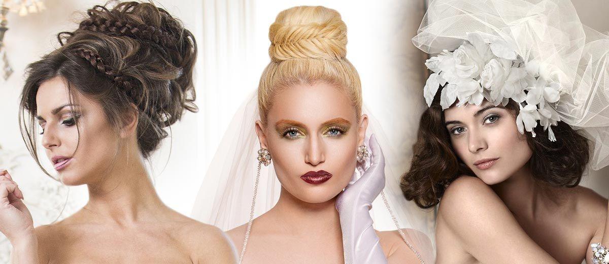 Galerie účesů – svatební účesy  3b42a302e2