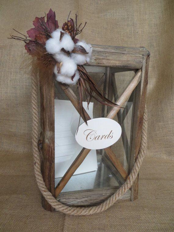 Choisissez votre d coration bois rustique mariage - Lanterne en bois ...